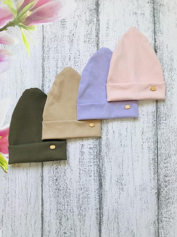 Детские демисезонные шапки