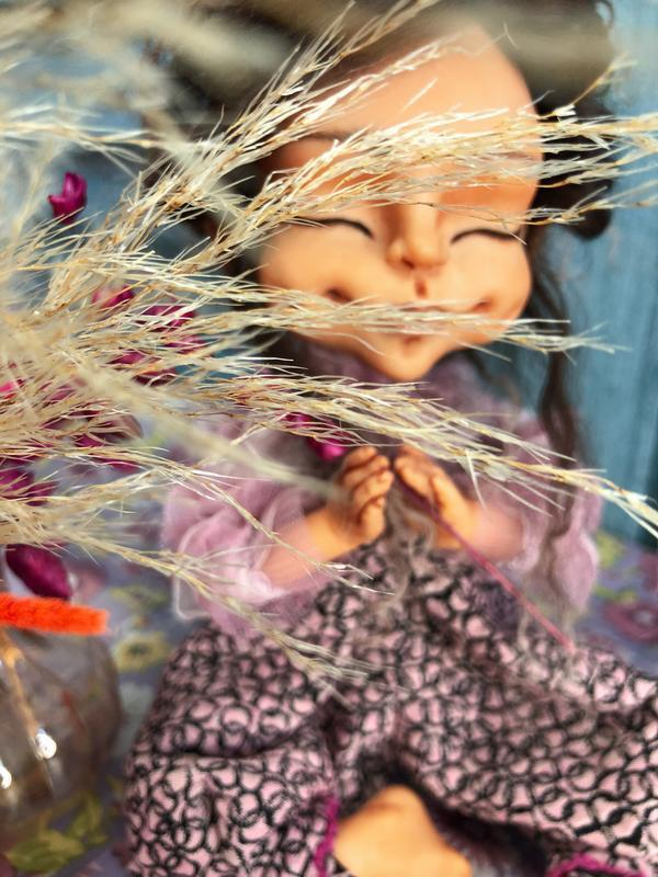 Намасте 4 - авторская кукла