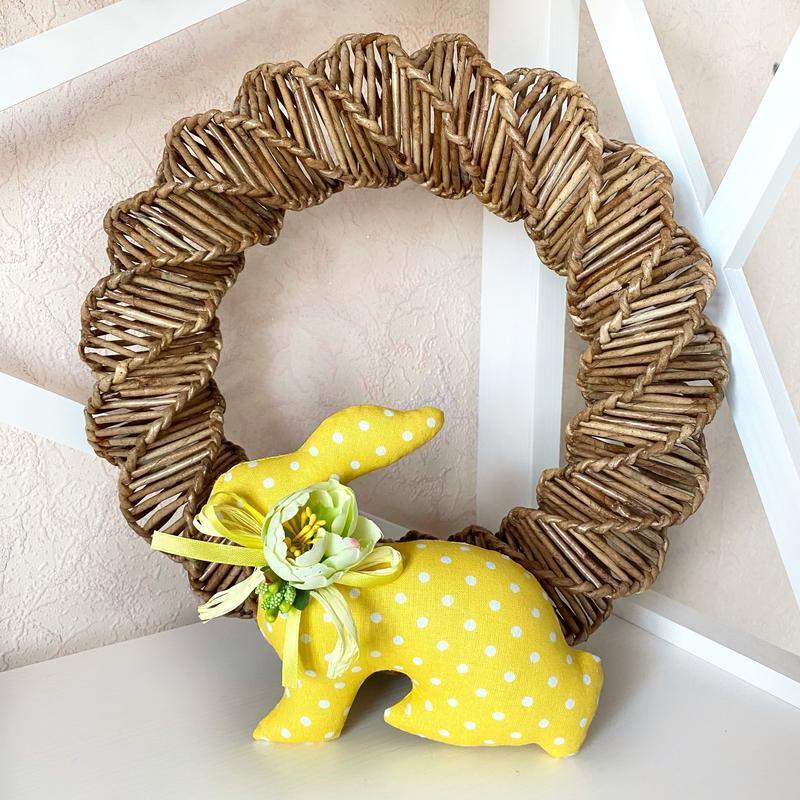 Пасхальный кролик, пасхальный декор, тильда кролик