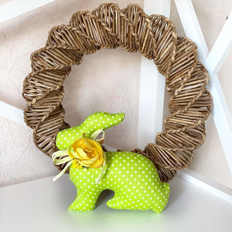 Пасхальный кролик, пасхальный декор, тильда
