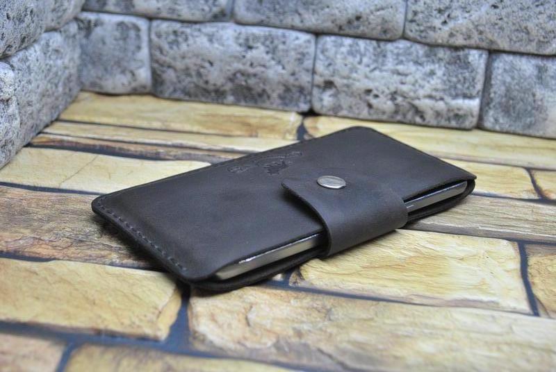 Чехол для смартфона из НАТУРАЛЬНОЙ кожи H17-450