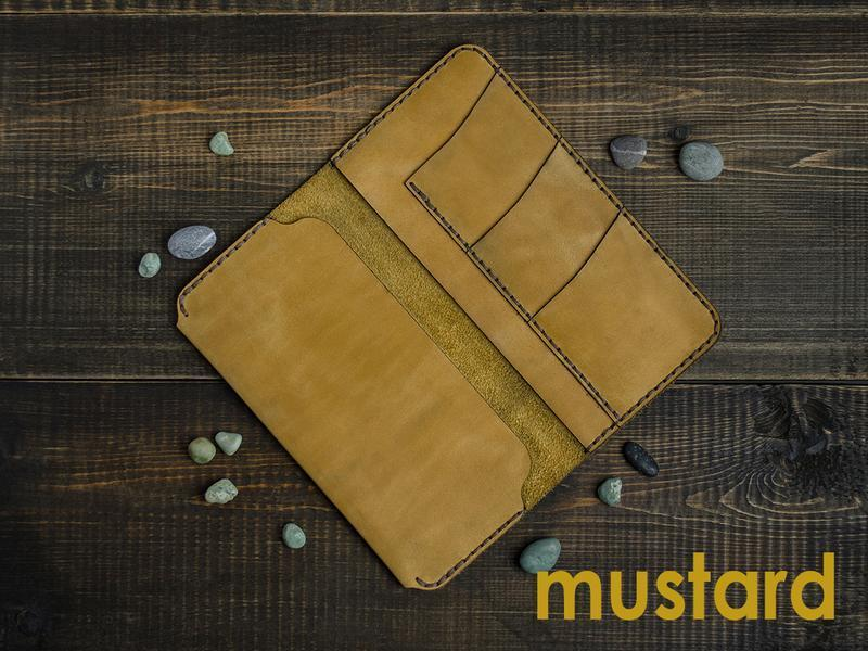 Кожаный чехол-портмоне для смартфона ручной работы для iPhone, Huawei, Lenovo, Samsung, Xiaomi