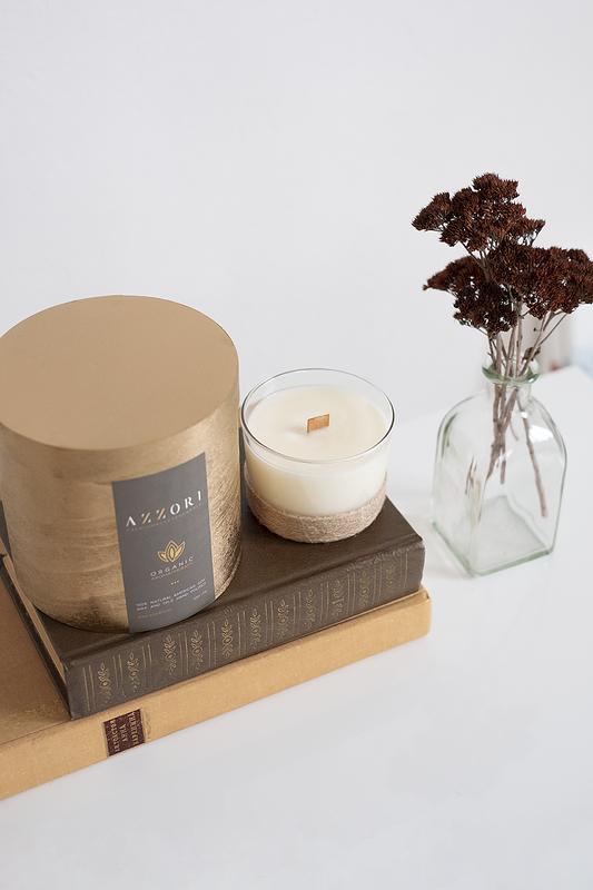 Натуральная ароматическая массажная крем свеча, органика, веган, унисекс