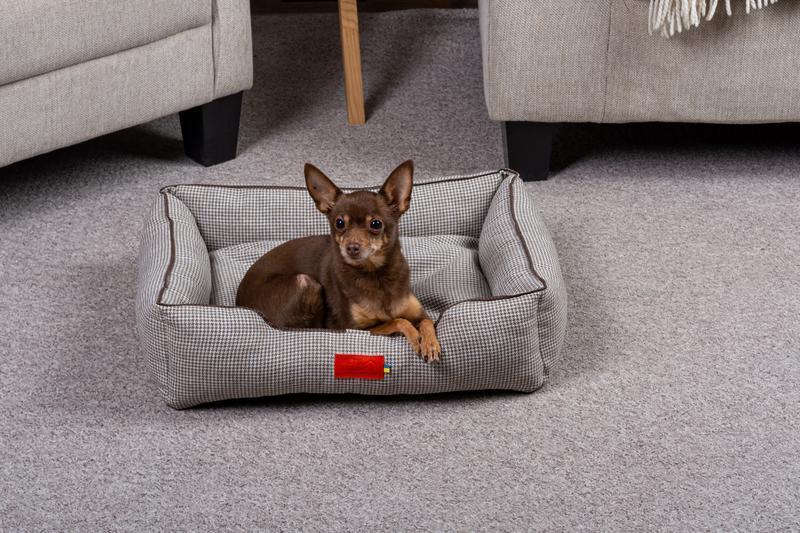 Лежак для собак і кішок Pets Lounge Classic S, сірий