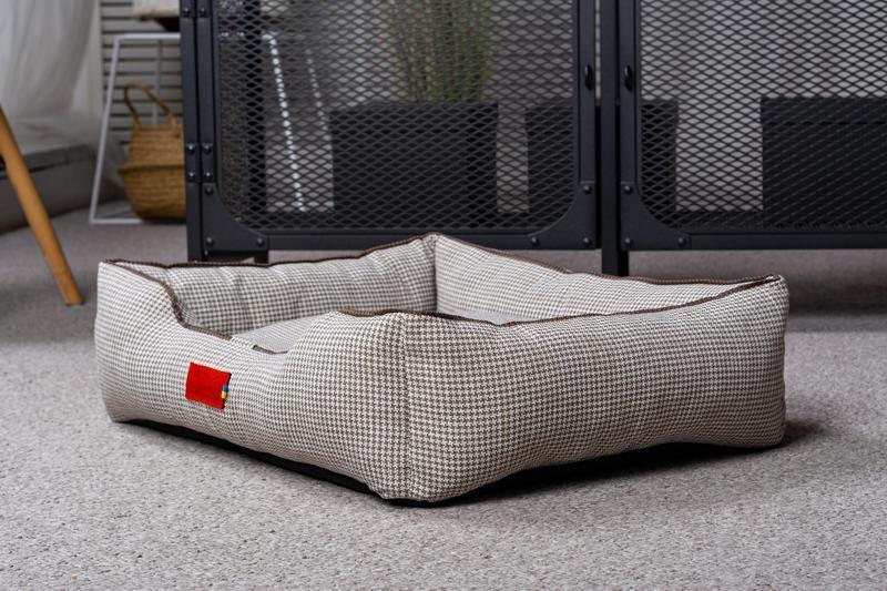 Лежак для собак і кішок Pets Lounge Classic M, сірий
