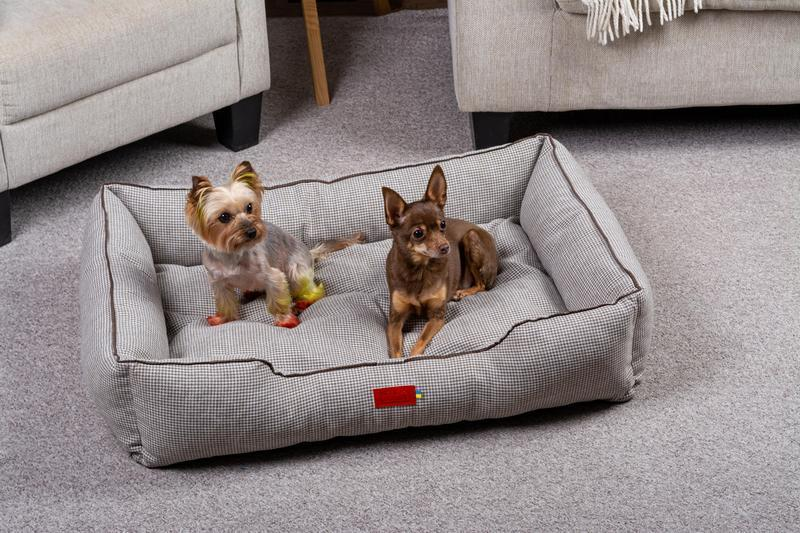 Лежак для собак і кішок Pets Lounge Classic L, сірий