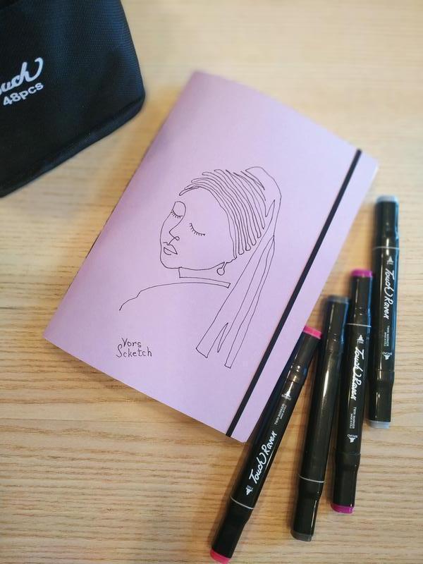 Скетчбук, блокнот для маркеров