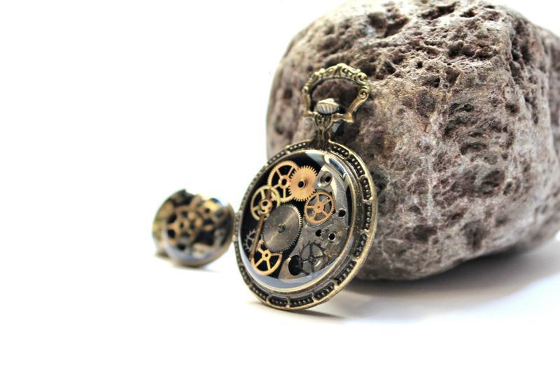 Набор в стиле стимпанк ′Старинные часы′