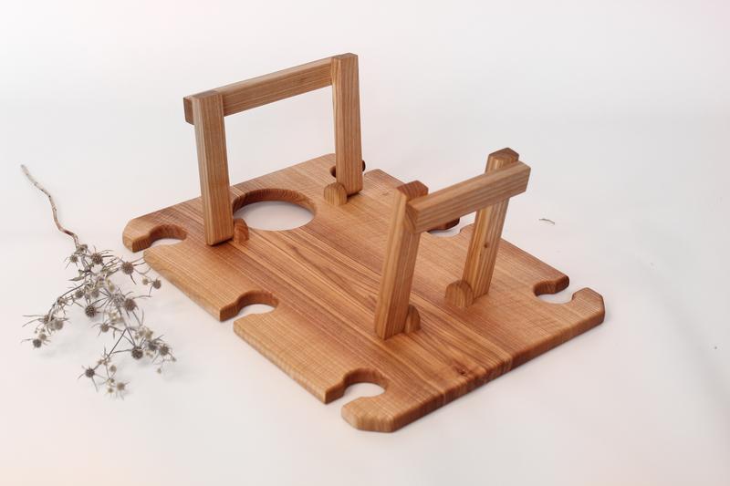 Персонализированный Деревянный Винный Столик Оригинальный Подарок Подруге, Маме, Сестре, Любимой