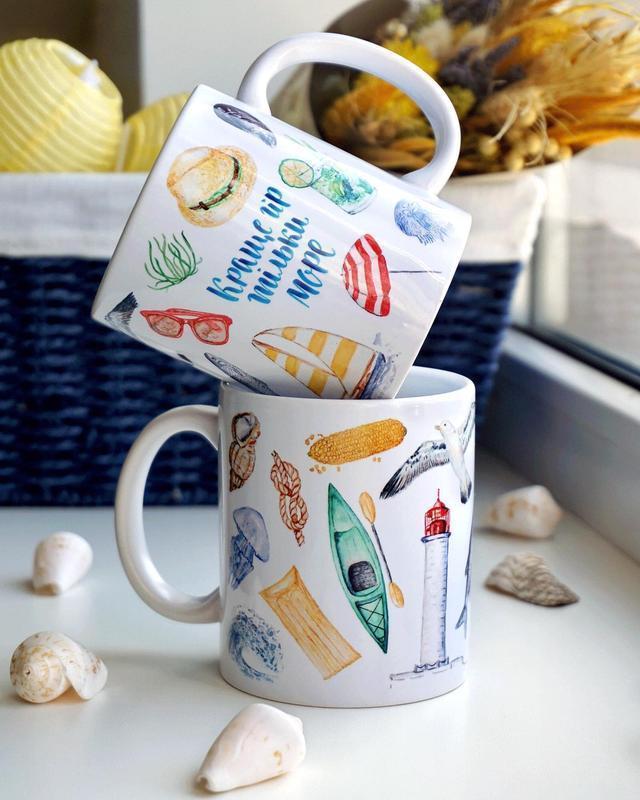 Чашка «Лучше гор только море»