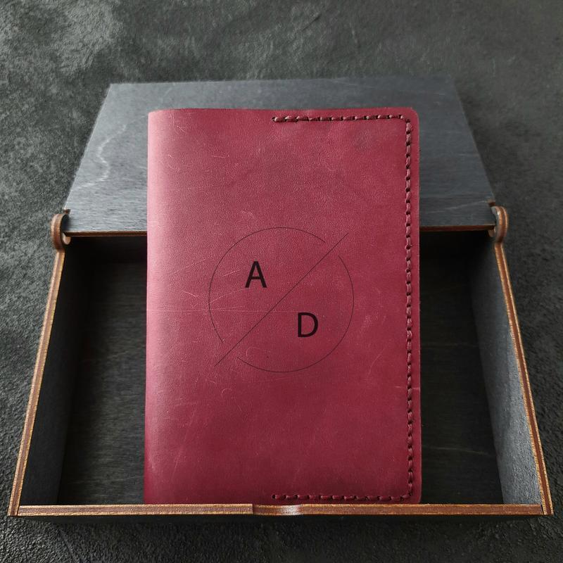 Обложка на паспорт, Чехол для паспорта, кожаная обложка на паспорт