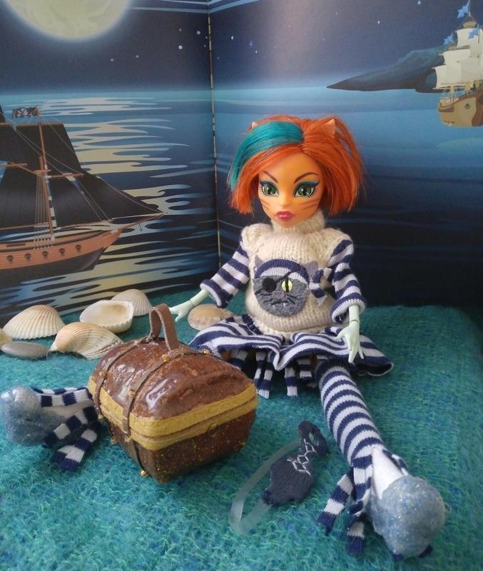 Аксессуар сумка сундук сундучок для кукол monster high, ever after high, Blythe и подобных