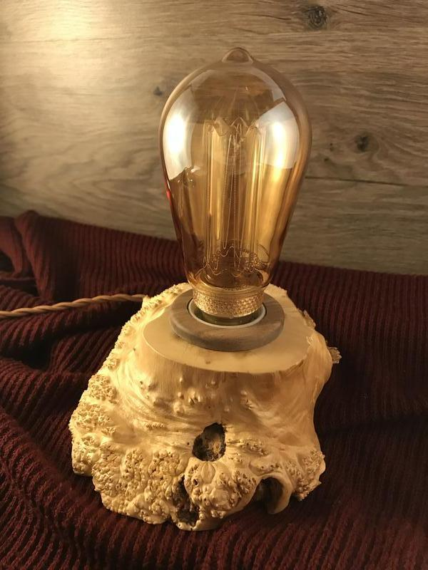 Светильник Эдиссона, настольный оригинальный ночник, лофт