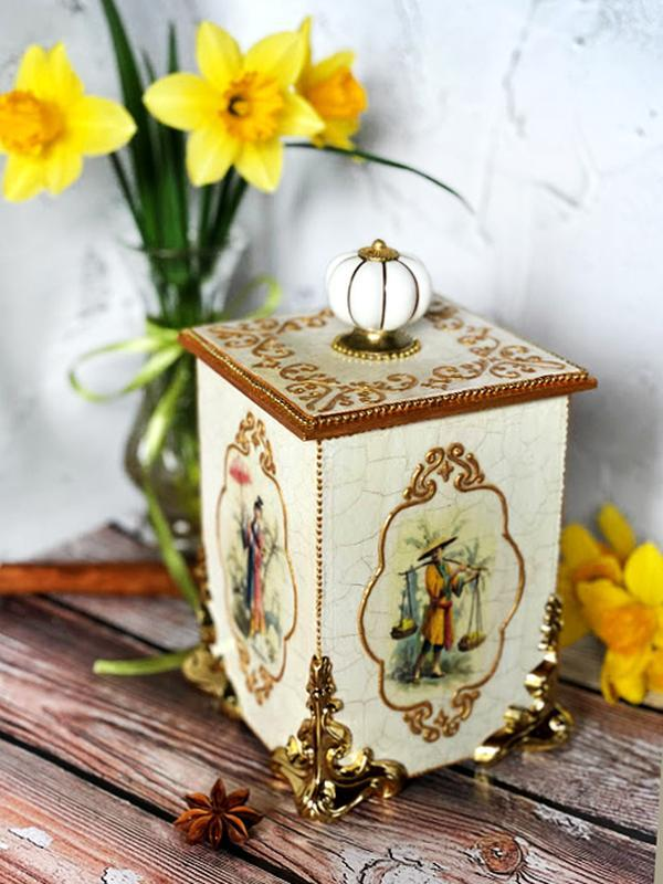 """Коробка для чая """"Чайная церимония"""""""