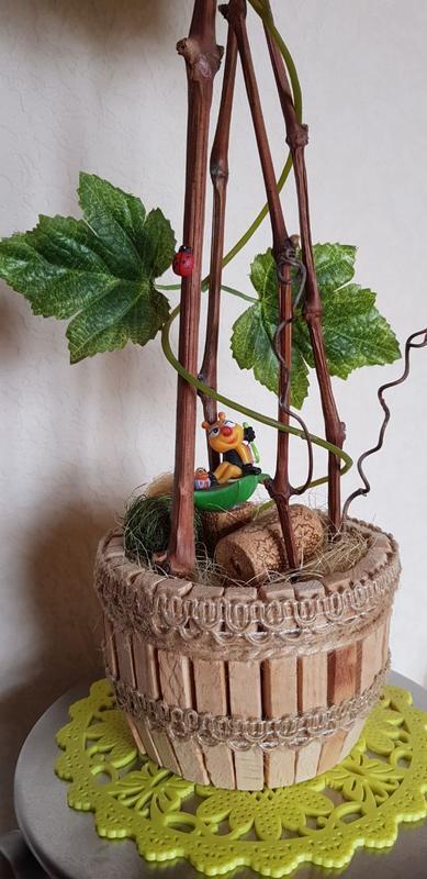 Топиарий «Виноградная лоза»