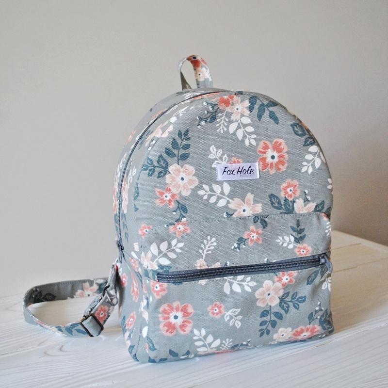 055eb8654332 Рюкзак с цветочным принтом ручной работы купить в Украине. №114466