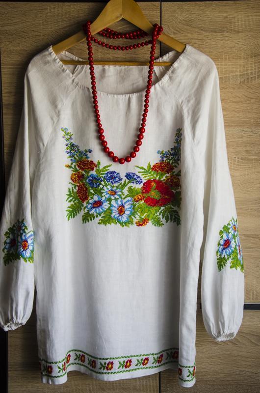 Вишита жіноча сорочка ручной работы купить в Украине. №12070 d1dcea6b0c509