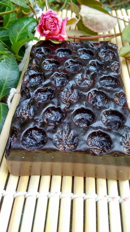 Масажно-кавове мило у вигляді гофри