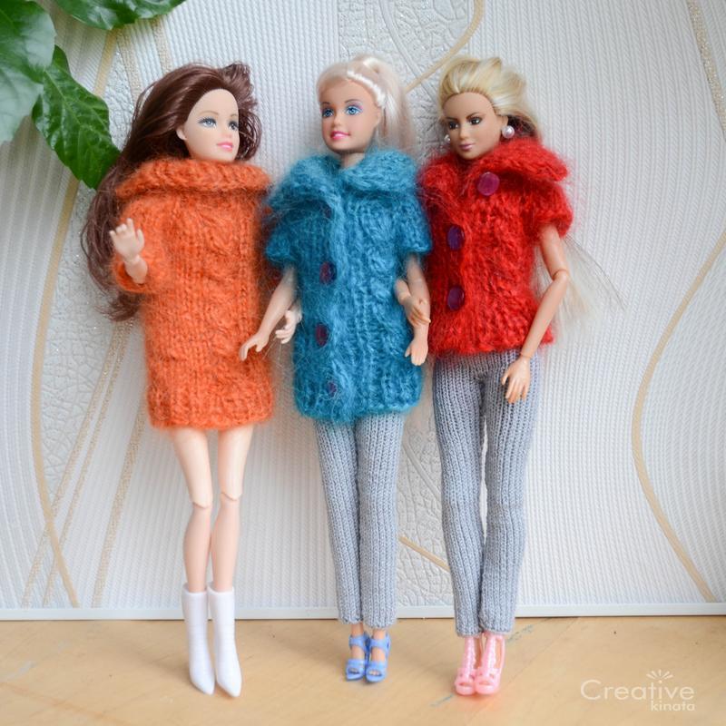 Кофти і светри для Барбі