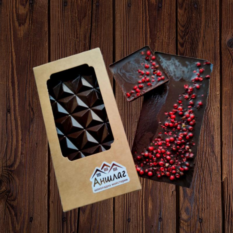 Шоколад горький 80% с перцем