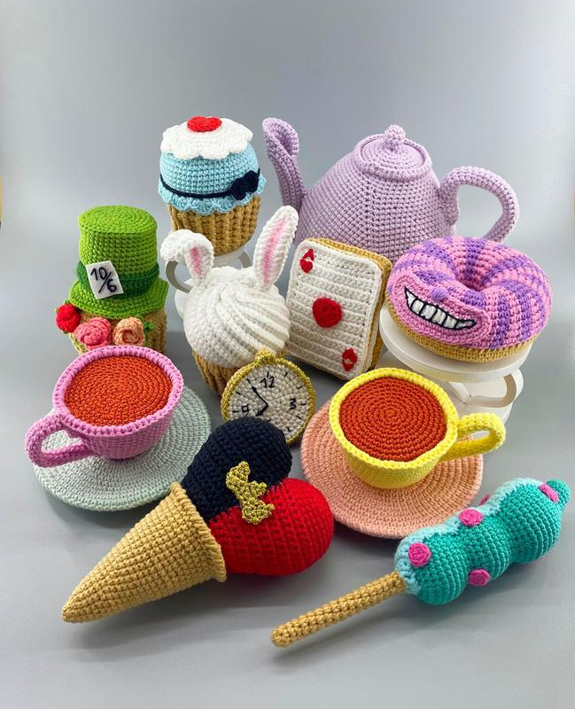 Набор игрушечных сладостей Безумное чаепитие