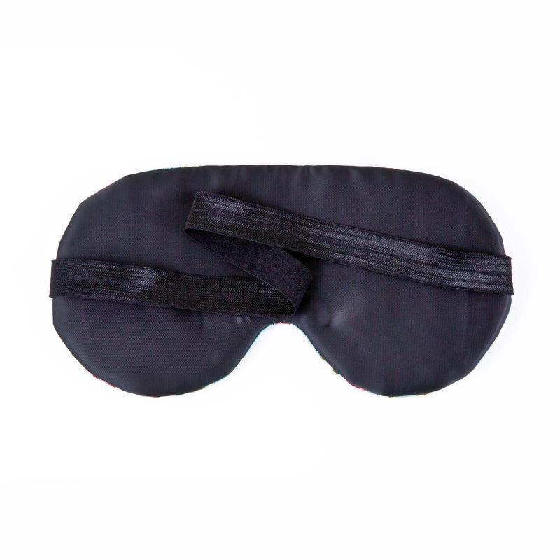 Маска для сна купить Украина, Мягкая маска для сна в полоску Casual
