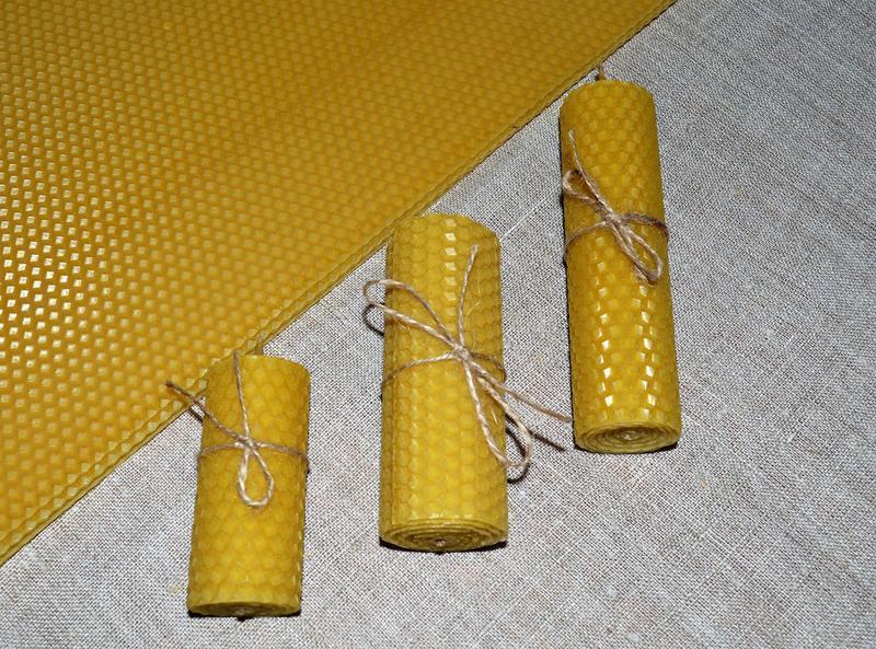 Набір для виготовлення свічок з вощини