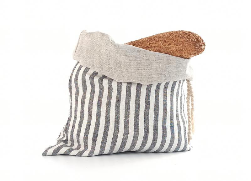 Хлебница из льна, экомешочек для хранения хлеба,экохлебница,мешочек для хлеба