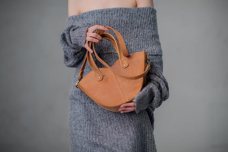 Набор сумка с органайзером Сумка 3в1 Цвет кемел