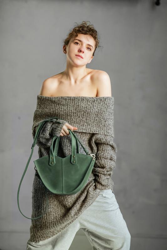 Набор зелёная сумка с органайзером Сумка 3в1