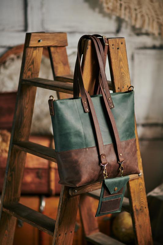 Шопер 2в1 и маленькая сумка с плечевым ремешком Качество люкс