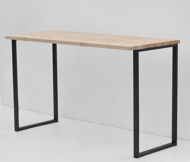 Опора для стола ROOMY Loft Design толщина метала 2мм  Черный