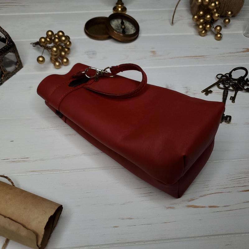 Кожаный мешочек для рун/камней/карт Таро