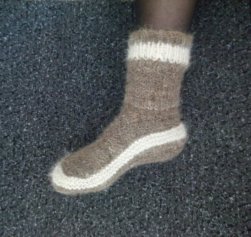 085b29a1f9f5c Носки из собачьей шерсти натуральные теплые женские Эко ручной ...