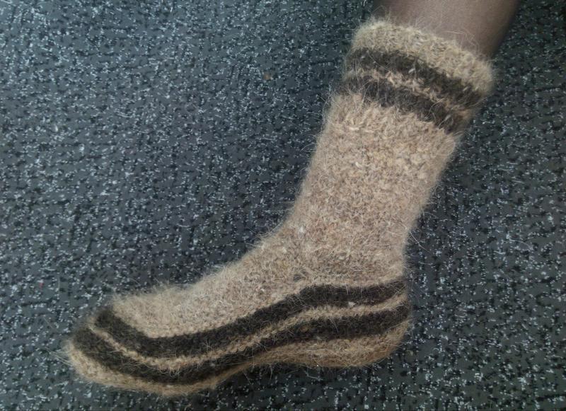 bf151dfecc85b Носки из собачьей шерсти натуральные теплые женские Эко носочки ...
