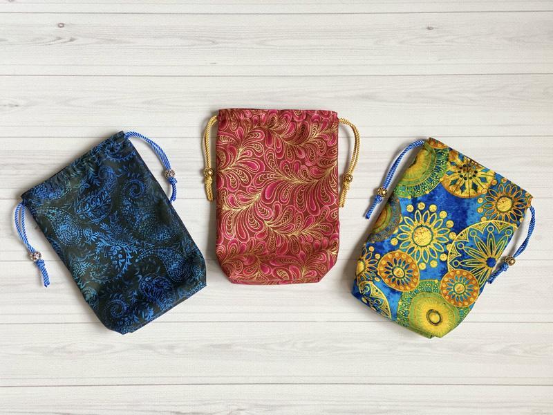 Мешочек для карт Таро, мешочек для рун, мешочек для кристаллов, мешочек для бижутерии