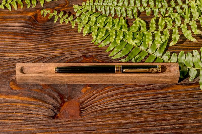 Персонализированный Органайзер Из Дерева Под Ручку Карандаш - Подарок Для Парня Мужа Сына Отца Босса