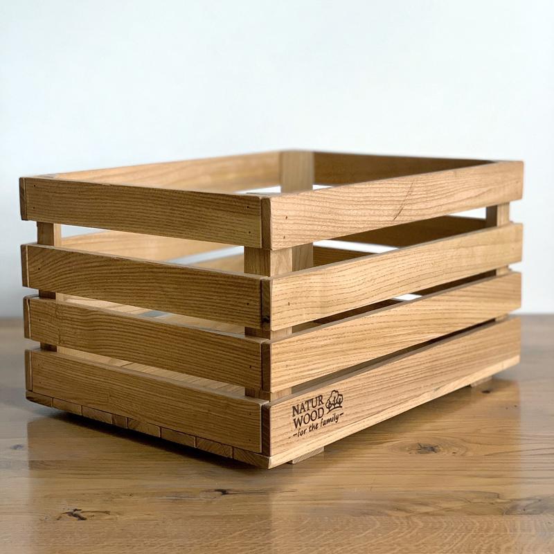 Ящик деревянный NATURWOOD (40 х 30 х 22 см)