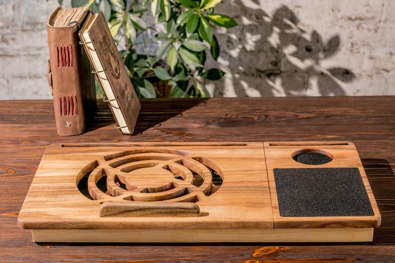 Столик Подставка Подно Кулер Держатель Докстанция Органайзер Для Охлаждения Ноутбука Macbook Макбука