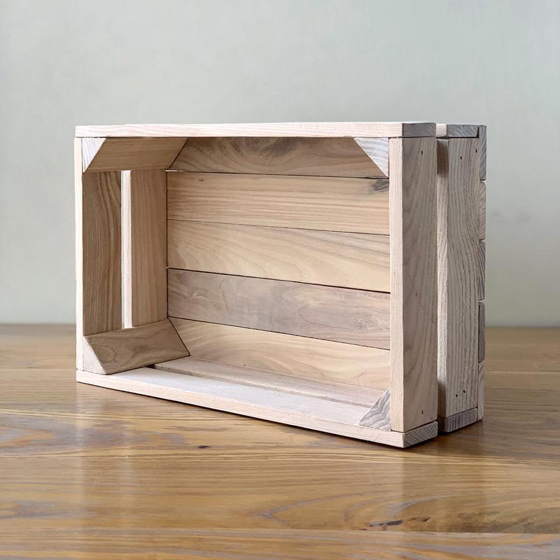 Белый деревянный ящик Naturwood 30*20*11 см