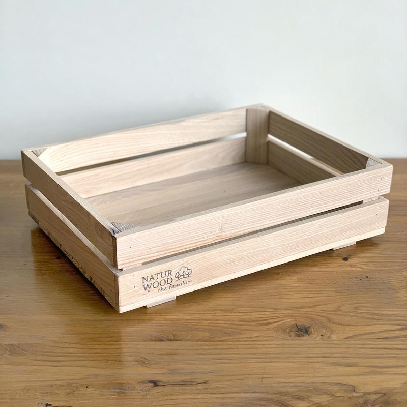 Ящик из натурального дерева ( 400 х 300 х 110 мм)
