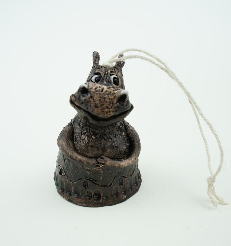 Колокольчик бегемотик дзвоник бегемота
