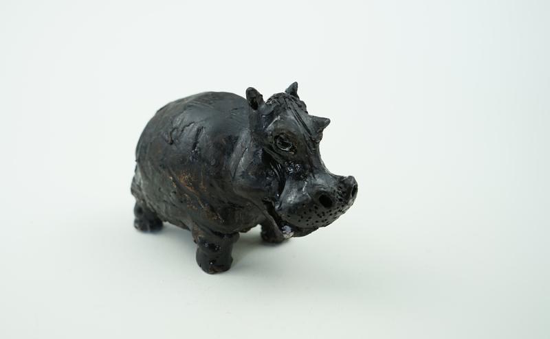 Статуэтка бегемотик статуэтка в виде бегемота