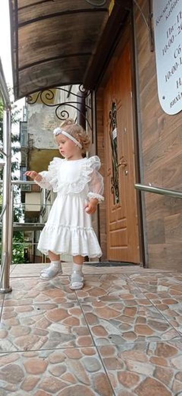 Плаття  нарядне на рочок. Плаття мереживне, сукня для дівчинки, подарунок дівчинці.