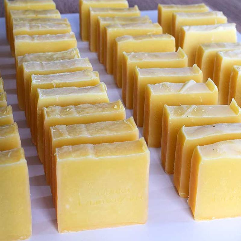 Мыло  Апельсин - миндаль