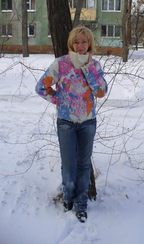 """куртка валяная """"Яркая зима"""""""