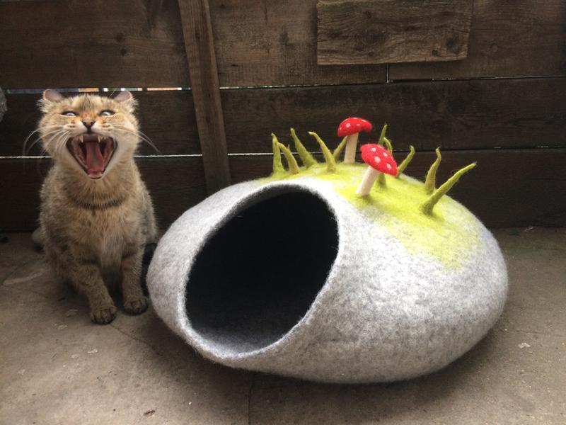 Домик для котика «Поляна»