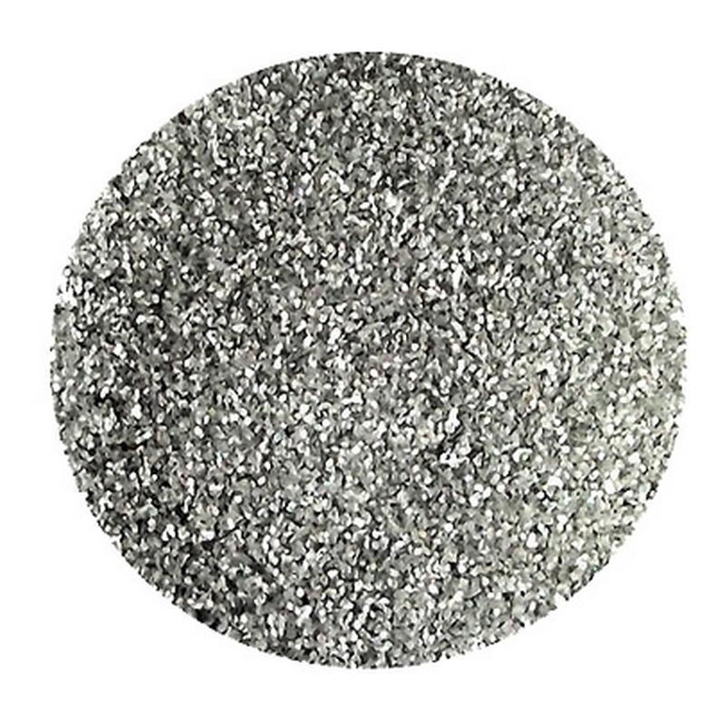 Сухие блестки 12 гр. 0,2 мм серебро