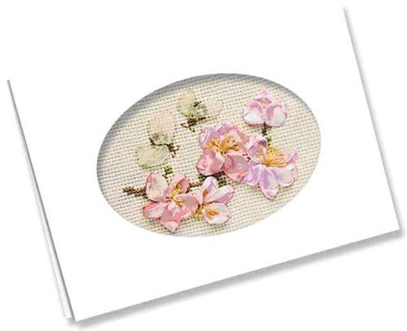 Открытка, открытки с 8 марта вышивка