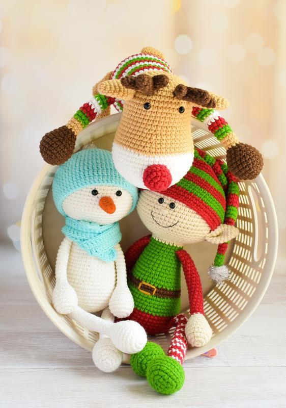 Вязаные игрушки для малышей. Мягкие игрушки для сна и игры. Подарок малышу.